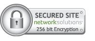 Secured Site: Network Solutions, 256 bit Encryption